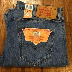 Levi's Original Fit 501 Jeans